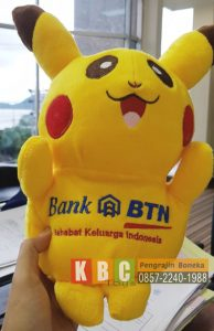 Pengrajin Boneka Souvenir Bank BTN model pokemon