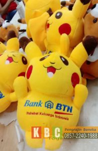 Produsen Boneka Souvenir Bank BTN model pokemon